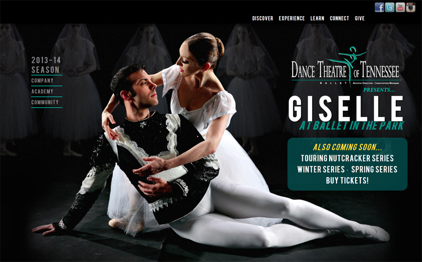 Dance Theatre of Tennessee website